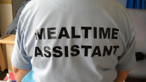 Voluntary Mealtime Assistants were introduced initially in 2011