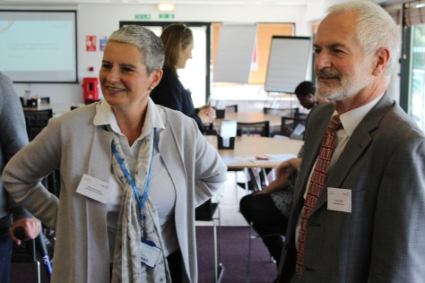Professor Alison Richardson from CLAHRC Wessex and Dr David Pitcher from Resuscitation Council