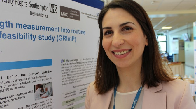 Getting a grip on high risk older inpatients with low grip strength -Dr Kinda Ibrahim and Dr Helen Roberts, Associate Professor in Geriatric Medicine