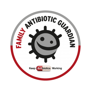500848_AMR_AntibioticGuardians_Badge_54mm_BUG2-300x300